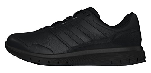adidas Uomo Duramo Trainer Lea scarpe sportive nero Size: 43 1/3