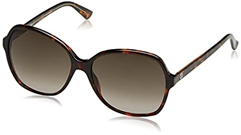 Gucci Ladies Acetate Havana Brown Frame GG 3721/S HNZ/HA 58-140