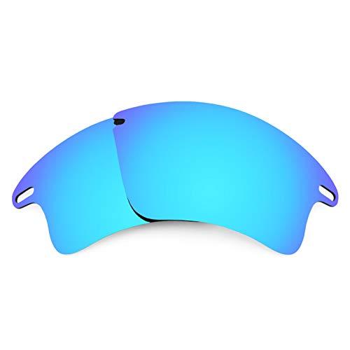 Revant Ersatzlinsen für Oakley Fast Jacket XL Polarisierung Elite Eisblau MirrorShield®