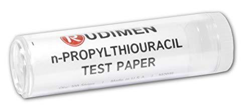 n-propylthiouracil Test genético de papel para sabor tiras de prueba, 100–eisco Labs