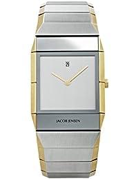 Jacob Jensen hombre-reloj analógico de cuarzo de acero inoxidable Jacob Jensen Sapphire 553