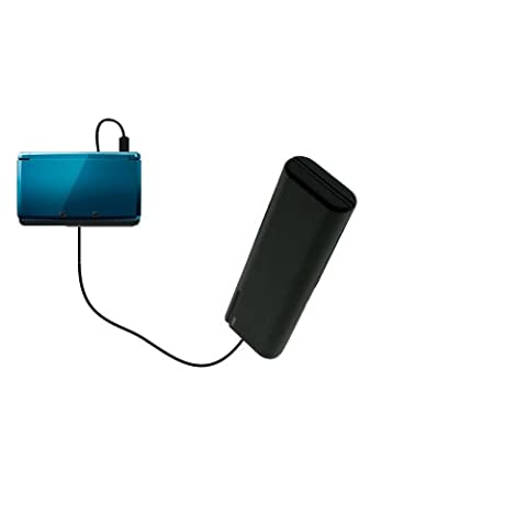 Portable Emergency AA Battery Charger Extender suitable for the Nintendo 3DS - with Gomadic Brand TipExchange Technology