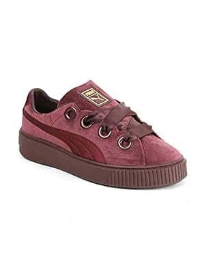 half off 2be1c c1eca Puma Women's Platform Kiss Velvet Wn SWomen Sneakers