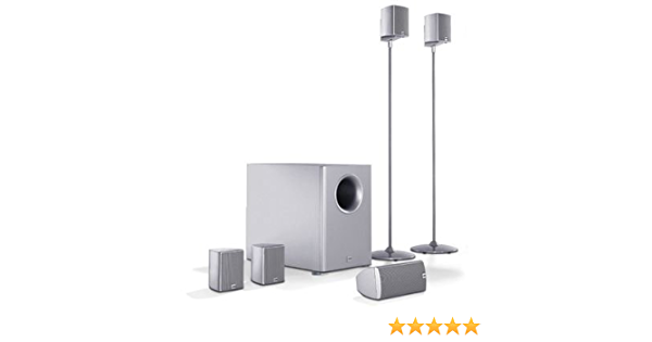 Canton Movie 100 Mx 5 1 Lautsprecher System Schwarz Audio Hifi