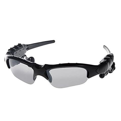 Liberté Sunglasses - kingcoo® sans fil de Bluetooth pour moto