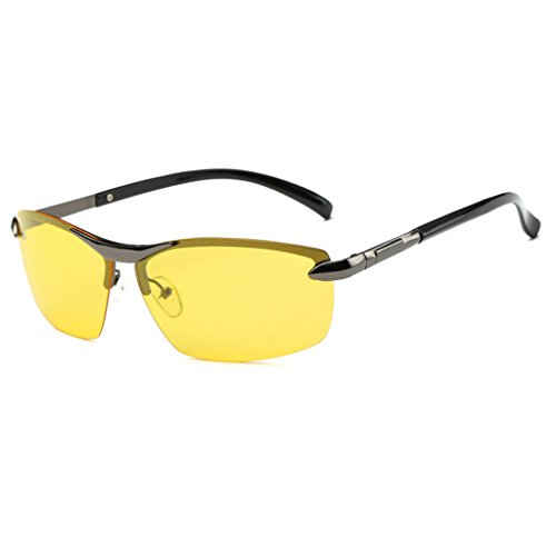Sunglasses Night Vision Goggles Driver Dedicated Polarized Light Driving Mirror Anti-glare High Beam Light Protect your eyes
