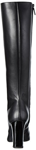 Pollini Damen Langschaft Stiefel Schwarz (Black 000)