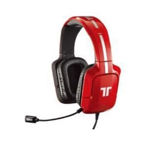 Mad Catz Tritton 720 + PC 7.1 Surround con micrófono (USB2.0? ƒó3.5 Mini/Rojo) mcp720prd