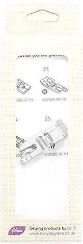 Compatible Rolled Hem Narrrow Hem (3 mm) Presser Foot by 60°®