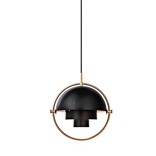 Designer-Pendelleuchte LED Esszimmer Esstischlampe Modern Chic Höhe Form Verstellbarer Rund Hängelampe Wohnzimmerlampe Schlafzimmer Decke Kronleuchter Hängeleuchte für Küche Flur Badlampe Bar Leuchten