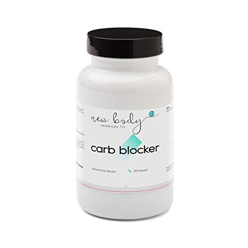 AKTION Carb Blocker – Bindung der Kohlenhydrate mit weißem Bohenpulver und Bockshornkleesamen / in Verbindung mit jeder Diät (z.B. HCG Stoffwechselkur, Low Carb Diät) einsetzbar – Kohlenhydratblocker in höchster