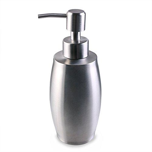 flintronic Dispensador de Jabón 350ml, Acero...