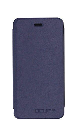 Bluboo Picasso Funda,iBetter Bluboo Picasso caso-Patrón PU Cuero With Built-in Media Stand and Ranuras Tarjetas Crédito Flip Protector Funda Carcasa Tapa Case Cover Designed Para Bluboo Picasso Phone-Azul