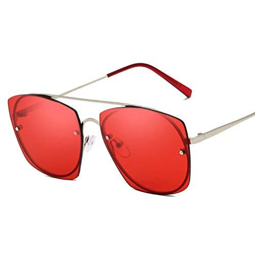 DECJ Sonnenbrillen für Frauen, Frauen Shades übergroße Brillen Sonnenbrillen Fashion Style UV400,A