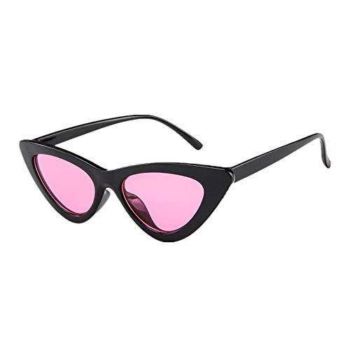 Makefortune Frauen Sonnenbrillen, Frauen-Weinlese-Katzenaugen-Sonnenbrille-Retro- kleiner Rahmen UV407 Eyewear arbeiten Damen-Gläser um ...