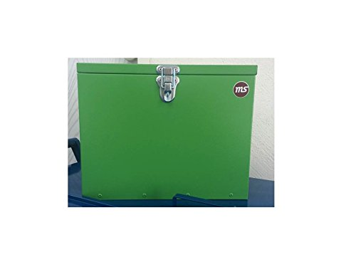Pferde-Putzbox grün; Putzkiste für Pferde; Pferde-Putzbox; Putzkiste; Putzkasten; Alu-Putzbox, für Reiter und Ihre Pferde entwickelt