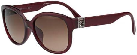 Fendi Sunglasses - FF0069/F/S/Frame: Burgundy Lens: Brown-FF0069FSMKG