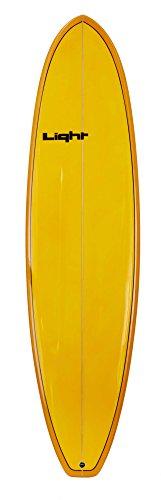 Light Erwachsene Surfboard WTF Orange, 6\'8