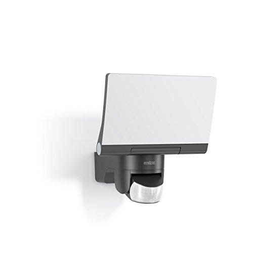 Steinel Projecteur LED XLED Home 2 graphite, orientable à 180°, puissance 14,8W, détecteur de mouvement 140°, portée 14m