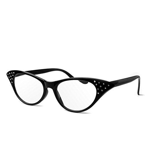 logres Fashion Cat Eye Lesebrille Retro Brille Reader eyewaer Gläser Kunststoff Rahmen + 1.0~ + 3,5(# 001), schwarz -