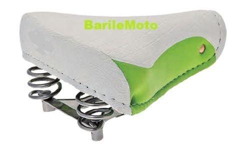 sella-montegrappa-export-molle-bici-graziella-epoca-r-bacchetta-olanda-city-bike-verde-bianco