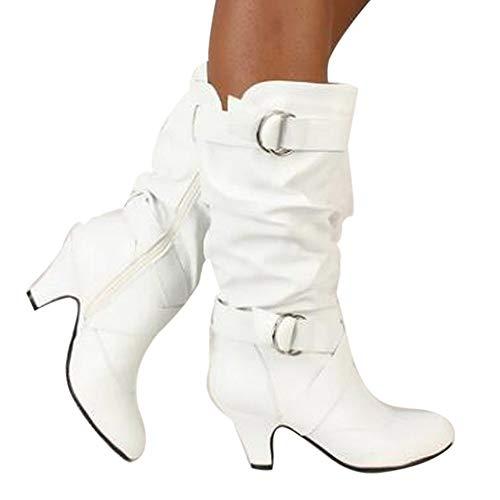 Stiefel Damen Leder Klassische Boots Mode Sexy Frauen Overknee High Boot High Heel Lange Oberschenkel Stiefel Schuhe Stiefel Freizeitschuhe ABsoar