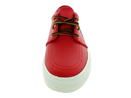 Ralph Lauren Faxon Low SK VLc Olive Mens Trainers RL2000 Red