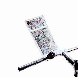 KlickFix Mini Map Kartenhalter Ausführung 12 x 25cm 2019 Fahrradtasche -
