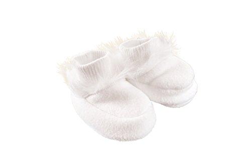 MGT-Shop jeunes filles Chaussures Baptême Bébé Chaussures Sandales polaire Baptême Mariage MT de 1 weiß