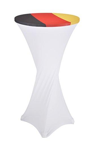 Stehtischhusse in Deutschlandoptik für 60 cm Stehtische Stehtisch Husse