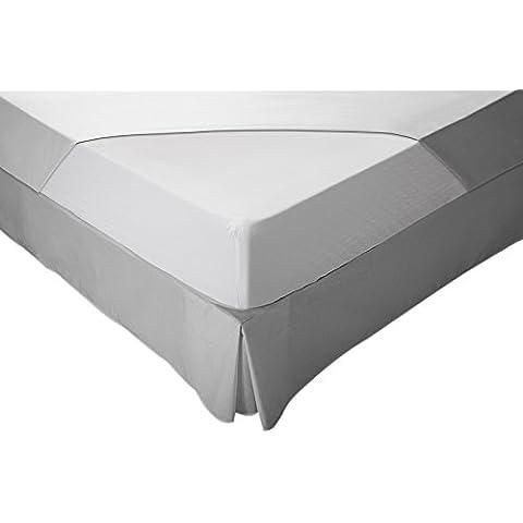 Pikolin Home Essential - Funda de colchón bielástica, antiácaros, transpirable, 160 x 190/200 cm, cama 160