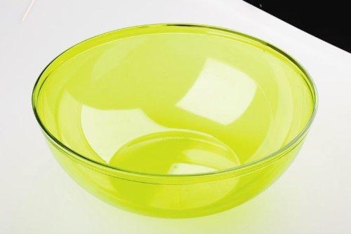 saladier plastique 3.5l couleur vert anis