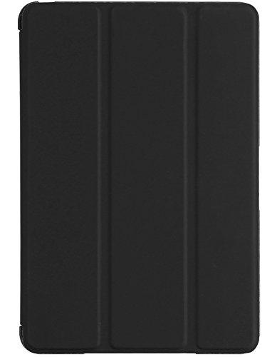 Skech Flipper Case für Apple iPad mini 4 - hochwertige Schutzhülle mit faltbarer Frontklappe, praktischer Stand- und Wake/Sleep Funktion - SK59-FL-BLK