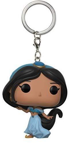 Funko-21231 Pocket Pop! Keychain Aladdin: Jasmine