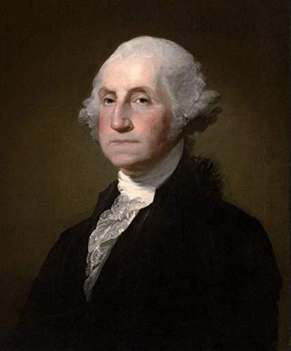 VNKLIN Hochwertiges Handgemaltes Ölgemälde Auf Leinwand: Der Erste Präsident Der Vereinigten Staaten, George Washington.