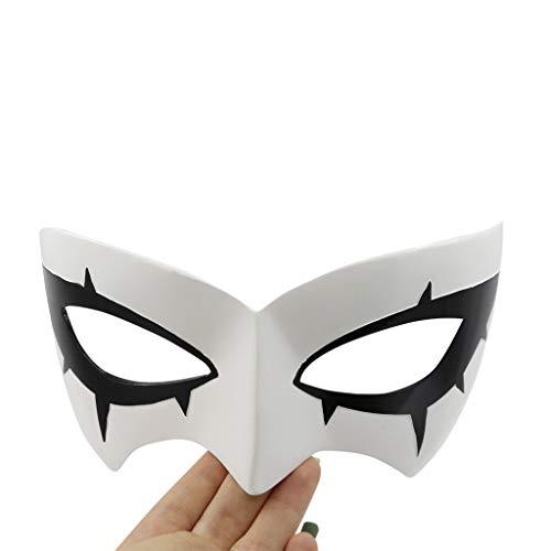 Göttin Kostüm Männliche - DEtrade Halloween Tanzparty Sexy Maske Göttin Männlicher Besitzer Elegante Augenmaske Lady Mask Masquerade Ball Karneval Fancy Halbes Gesicht Maske (A)