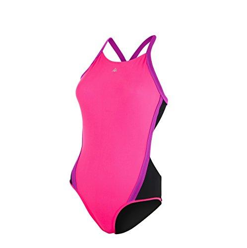 Aqua Sphere Cindy Maillot de bain pour femme, femme, Cindy, Bright Pink/pink, 30