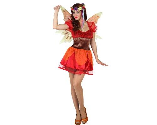 Imagen de atosa  disfraz de hada para mujer, talla m/l 23039