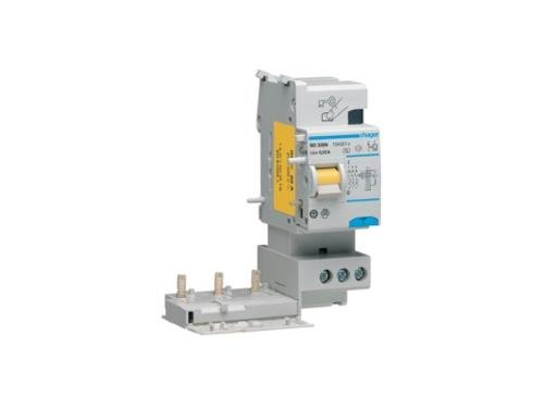 HAGER TIPO AC - BLOQUE DIFERENCIAL TIPO-AC 30MA 3 POLOS 25A