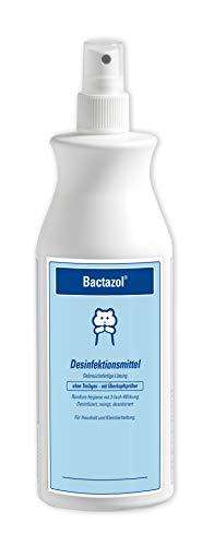 Bactazol Desinfektionsmittel, Rundum-Hygiene für Haushalt, Haustiere und Tierumgebung, Schutz vor Pilzen, Viren und Bakterien, 1 x 500ml