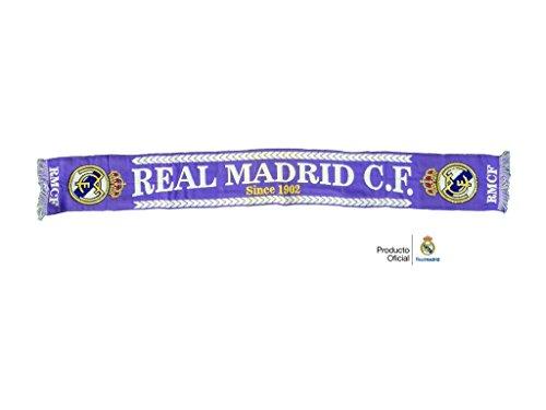 REAL MADRID BUFANDA OFICIAL MORADA DESDE 1902
