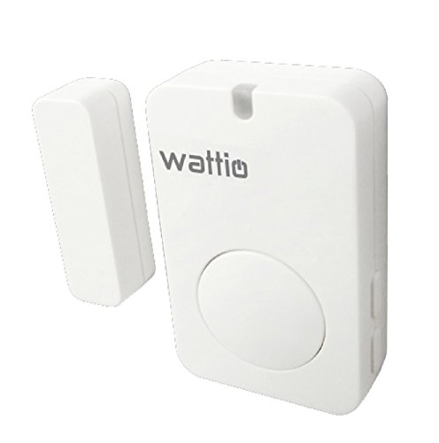 Wattio Sensor Door-Detector de Apertura de Puertas y...