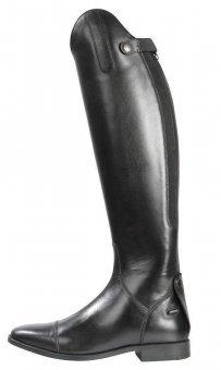 Pfiff Lederstiefel -Romont-, hochwertiger Reit-Stiefel aus Leder in schwarz, Normalschaft (NS) und Weitschaft (WS), 36 bis 51 -
