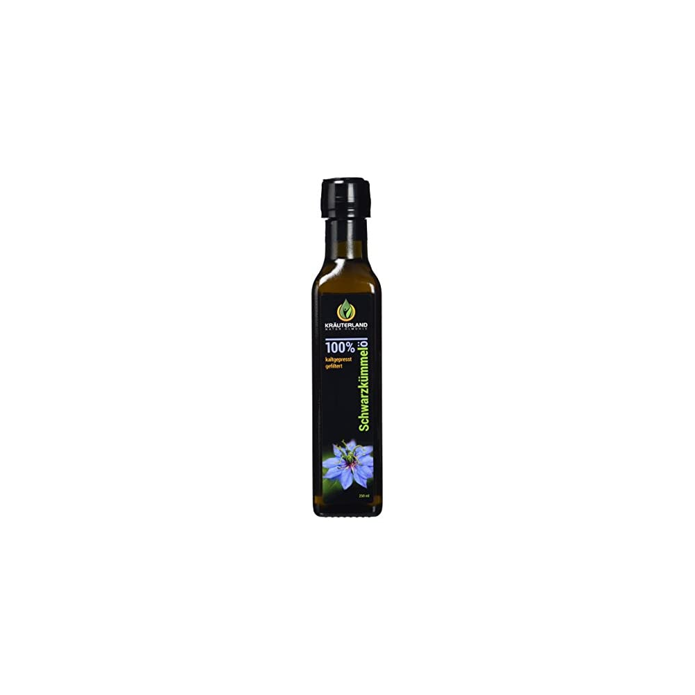 Schwarzkmmell 250ml Gefiltert Kaltgepresst Gyptisch 100 Naturrein Frischegarantie Tglich Mhlenfrisch Direkt Vom Hersteller Kruterland Lmhle Mild