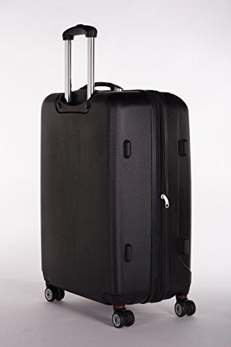 Packenger 501/28-003P-05 Koffer, 72 cm, 88 Liter, Schwarz - 2