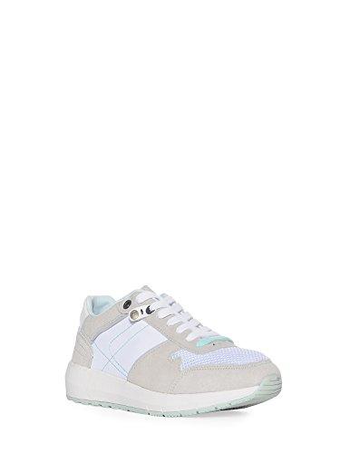 Wrangler foot wear Sneaker da donna in acciaio inox Bianco (bianco)