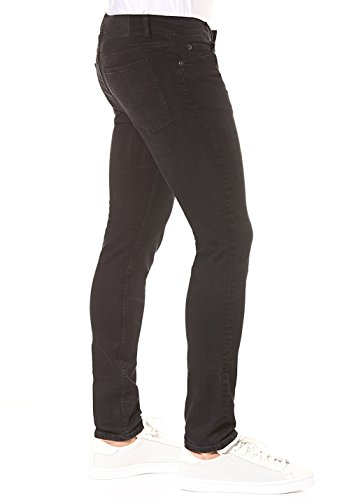 Cheap Monday Herren Skinny Jeans Tight Black Haze Black