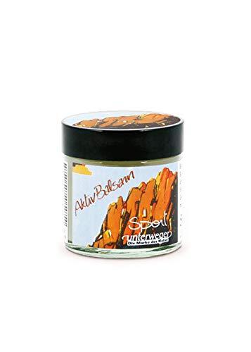 Kräuter-körper-balsam (Unterweger Natur Aktiv Balsam mit BIO-Kräutern und Ölen im Glastiegel, 50 ml Sport Haut Pflege Durchblutung Massage Wellness)