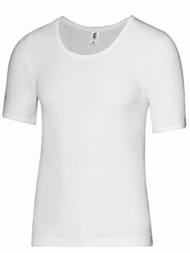Esge Herren Shirt 1/2 Arm Mondial Feinripp Weiß