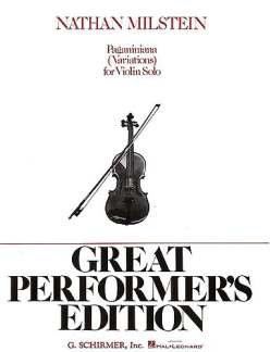 PAGANINIANA - arrangiert für Violine [Noten / Sheetmusic] Komponist: MILSTEIN N